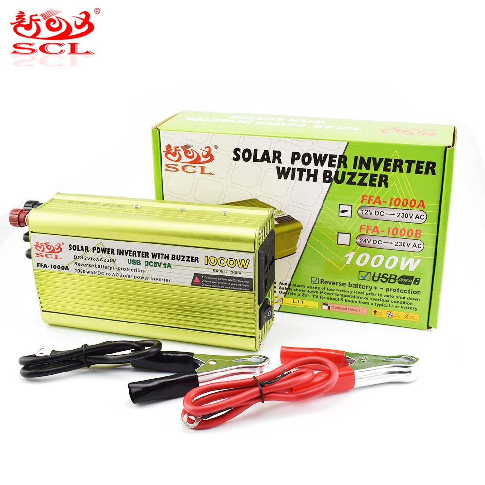 FFA-1000A - Power inverter - Foshan SunChongLic Electric Appliance