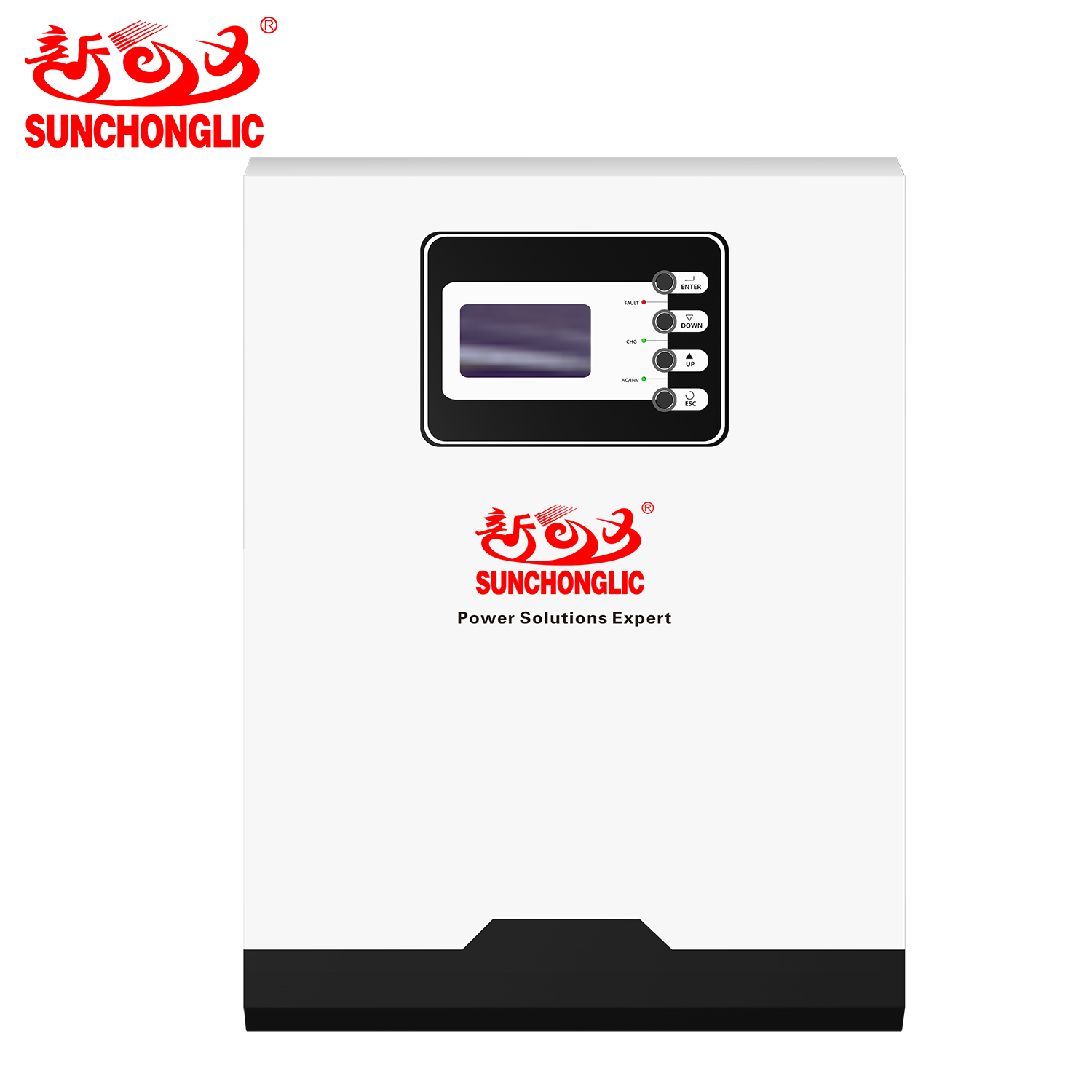 Sunchonglic 48V 5.5KW 5500W pure sine wave parallel operation mppt hybrid solar inverter